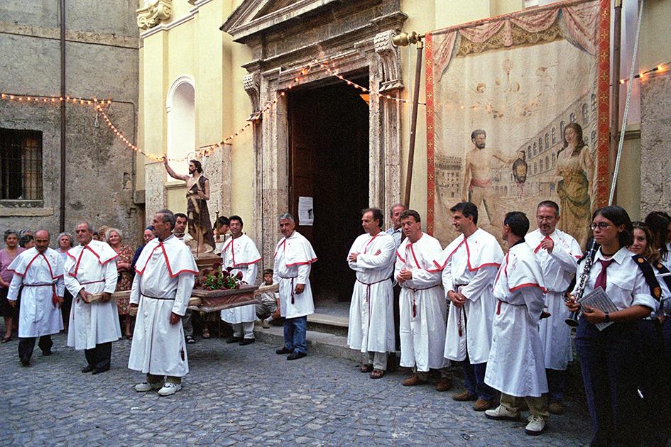 San Giovanni Decollato e la Panarda di Roviano