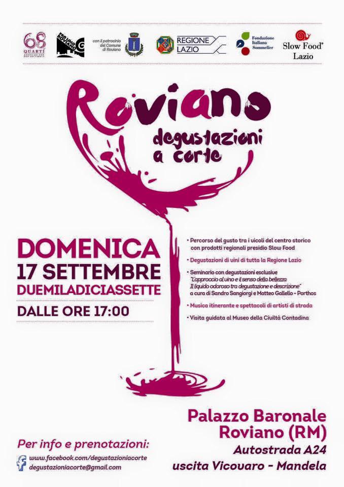 Degustazioni a Corte. L'approccio al vino e il senso della bellezza