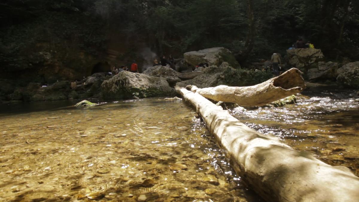 Presentazione del film AQUA al Parco del Montano di Roviano