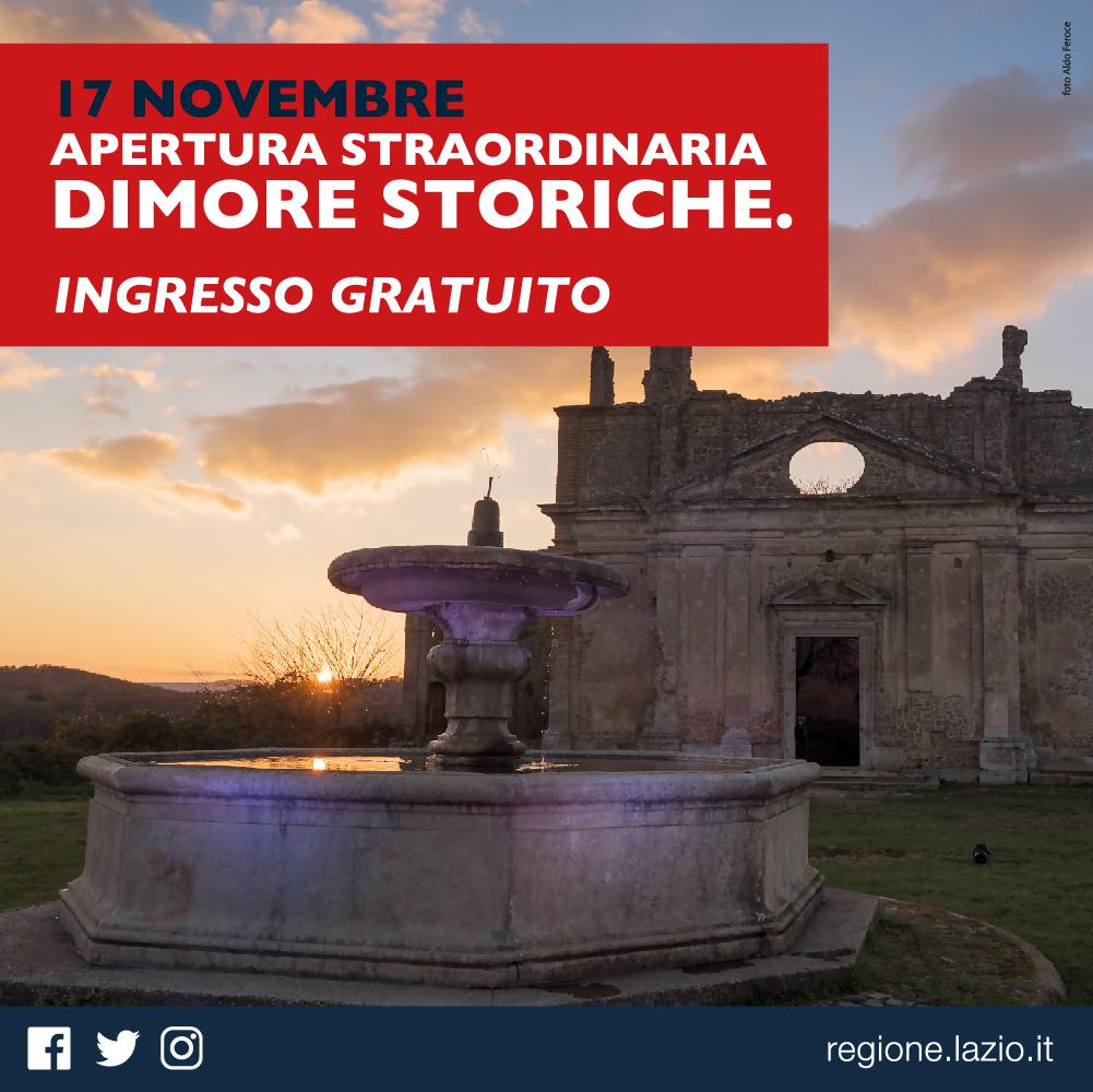 Dimore storiche. Domenica ingresso gratuito al Museo